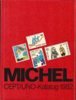 Michel CEPT/UNO-Katalog 1982 - Fast Wie Neu, 2 Scans - Unclassified