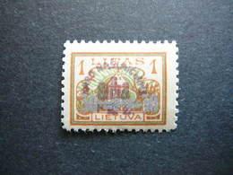 Lietuva Lithuania Litauen Lituanie Litouwen # 1926 * MH # Mi. 256 - Lituanie
