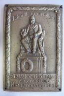 Seltene Plakette , Zielfahrt Neubrandenburg 1930 , Motorrad , Motorsport , Speedway , Badge , Fritz Reuter !!! - Motorräder