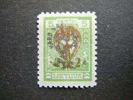 Lietuva Lithuania Litauen Lituanie Litouwen # 1926 * MH # Mi. 259 - Lituanie