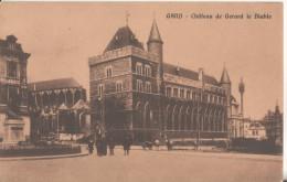 GAND   Le  Chateau De Gerard  Le Diable - Gent