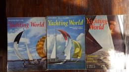Yachting World, Racing Feature, 3 Maandbladen: July 1965, July 1966, December 1973 - Transports