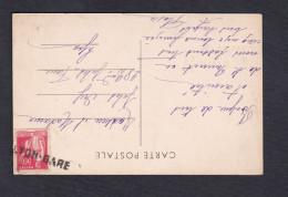 Type Paix 283 Annulation Lyon Gare Sur CPA St Saint Bonnet De Troncy - Croix Nicelle - Marcophilie (Lettres)