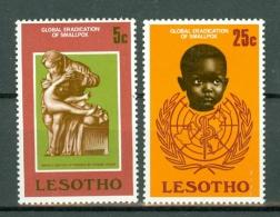 Lesotho 1978 Yv 356/57**, Mi 254/55**,   MNH - Lesotho (1966-...)