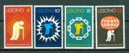 Lesotho 1977 Yv 335/338**, World Rheumatism Year 1977   MNH - Lesotho (1966-...)