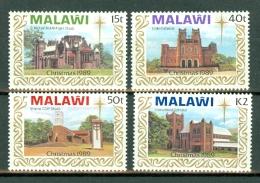 Malawi 1989 Christmas Mi 541/544**, Sc 558/561**, SG 829/32**  MNH - Malawi (1964-...)