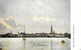 [DC2780] CPA - BELGIO - ANVERS - PANORAMA - Viaggiata 1907 - Old Postcard - Belgio