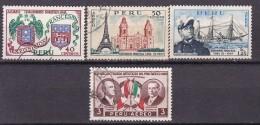 PEROU - N°Y&T - Série Av 121/4 - Les 4 Valeurs - Exposition Francaise De Lima  - Tous Oblit - Pérou