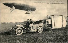 AUTOMOBILES - Voiture Pour La Remorque Des Aéroplanes - Services Aériens Armée Française - BLERIOT - Cartes Postales