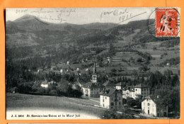 MAI130, St. Gervais-les-Bains Et Le Mont Joli, 6856, Circulée 1911 - Saint-Gervais-les-Bains