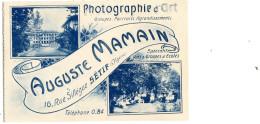 Auguste MAMAIN (SETIF) Photographie D'art - Sétif