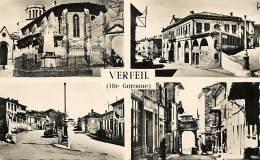 - Depts Divers -FF118- Haute Garonne - Verfeil - Souvenir De .. - Carte Multi Vues - Carte Bon Etat - - Verfeil