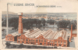78-  BONNIERES SUR SEINE - L'USINE SINGER - Bonnieres Sur Seine