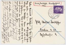 """1943, """" Oslo - Deutsche Dienstpost """" , #5742 - Norvège"""