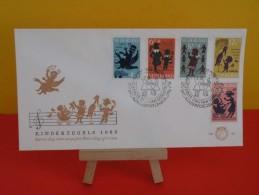 Néderland FDC,Néderland FDC, Kinderzegels 1963/ 1er Jour D´émission 1963 - FDC