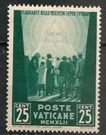Timbres - Vatican - 1942 - 25 Cent. - - Neufs