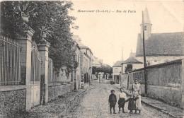 78-  MARECOURT - RUE DE PARIS - Maurecourt