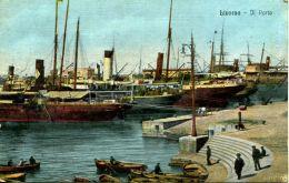N°49692 -cpa Livorno -Il Porto- - Commerce