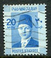 Egypt 1937-44 Investiture Of King Farouk - 20m Pale-blue Used (SG 257) - Egypt