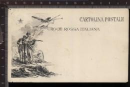 393D/4 CPA CARTOLINA POSTALE WWI I° GUERRA MONDIALE CROCE ROSSA ITALIANA - Croix-Rouge