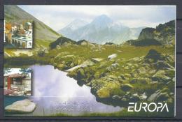 EUROPA-CEPT 2004 - Bulgarie - Carnet De 2 X 4 V NEUF ** (MNH) - Europa-CEPT