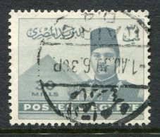 Egypt 1939 King Farouk - 30m Grey Used (SG 276) - Egypt
