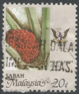 Sabah (Malaysia). 1986 Agricultural Products. 20c Used. SG 464 - Malaysia (1964-...)