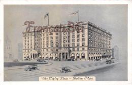 Massachusets - The Copley Plaza - Illustration - Boston - 2 SCANS - Boston