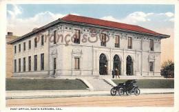 Califonia - Post Office - Santa Barbara - 2 SCANS - Santa Barbara