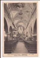 VERNANTE - CUENO  : Interno Chiesa Parrocchiale   - Valle Vermenagna - Cuneo