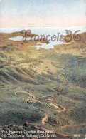 California - The Famous Double Bow Knot Mt. Tamalpais Railway - 2 SCANS - Oakland