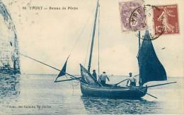 Dép 76 - Bateaux - Yport - Bateau De Pêche - état - Yport