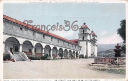 California - Santa Barbara Mission California - 2 SCANS - Santa Barbara