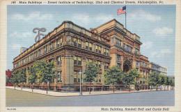 Pennsylvania - Main Building Randell Hall And Curtis Hall - Philadelphia - 2 SCANS - Philadelphia