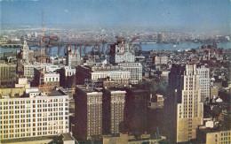 Pennsylvania - View Toward Benjamin Franklin Hotel And Delaware River - Philadelphia - 2 SCANS - Philadelphia