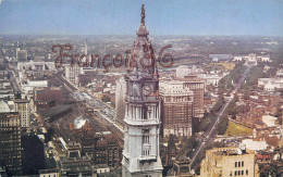 Pennsylvania - View From P.S.F.S Building - Philadelphia - 2 SCANS - Philadelphia