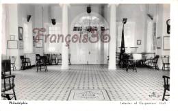 Pennsylvania - Interior Of Carpenters' Hall - Philadelphia - 2 SCANS - Philadelphia