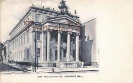 Pennsylvania - ST. George's Hall - Philadelphia - 2 SCANS - Philadelphia