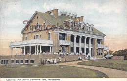 Pennsylvania - Children's Play House Fairmount Park - Philadelphia - 2 SCANS - Philadelphia