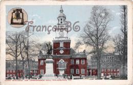 Pennsylvania - Barry Monument And Independance Hall - Philadelphia - 2 SCANS - Philadelphia
