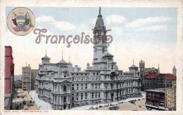 Pennsylvania - City Hall - Philadelphia - 2 SCANS - Philadelphia