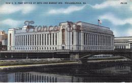 Pennsylvania - New U.S Post Office At 30th And Market STS - Philadelphia - 2 SCANS - Philadelphia