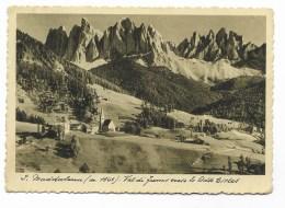 S.MADDALENA VAL DI FUNES 1936  VIAGGIATA FG - Bolzano (Bozen)
