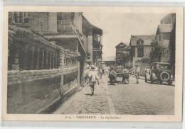 Madagascar - Tananarive La Rue Galliéni Attelage Boeufs Auto Ed Jean Paoli - Madagascar