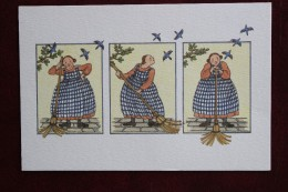 ANNE ODILE  HUET HUMEAU    SCENE DE BALAI - Illustrateurs & Photographes