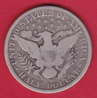 Etats Unis Half Dollar 1907 O - TB - Émissions Fédérales