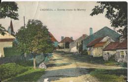 CPA - Choiseul - Entrée Route De Merrey - - France