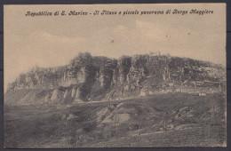 SAN MARINO , OLD POSTCARD - Saint-Marin