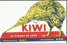 Buvard  ( KIWI  Le Cirage De Luxe-Fabrication S R C _Exclusivité P P Z - Wassen En Poetsen