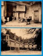 CPA 24 NEUVIC-sur-L'ISLE Dordogne (LOT De 2) Château Neuvic School (lieu De Convalescence: Voir Texte) - France